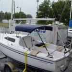 Catalina 22 Sport sailboat by Catalina Yachts     Masthead