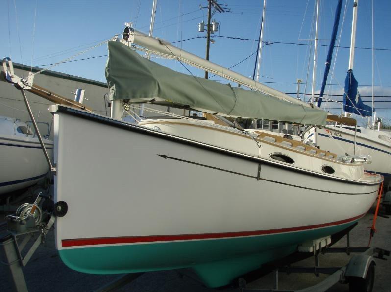 Com-Pac Horizon Cat sailboat by Com-Pac Yachts | | Masthead
