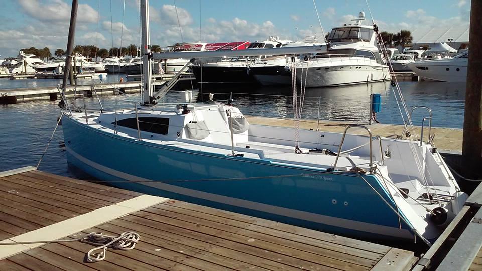 Catalina 275 sport sailboat by Catalina Yachts     Masthead